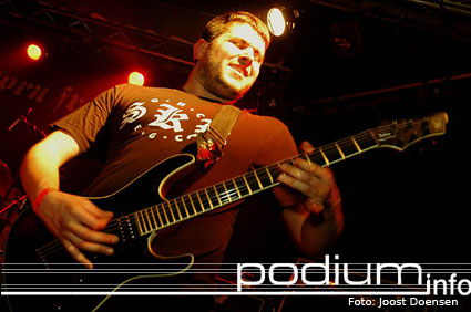The Setup op Born From Pain/First Blood- 18/3 - Pul foto