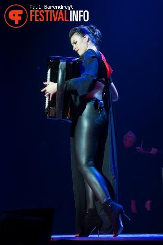 Ksenija Sidorova  op Night of the Proms 2014 foto