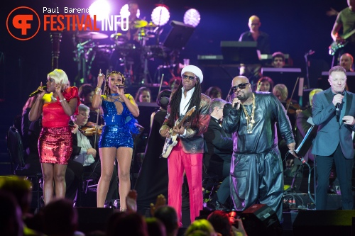 Nile Rodgers & Chic op Night of the Proms 2014 foto