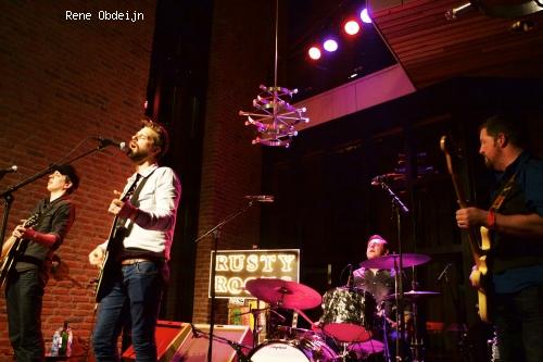 Foto Rusty Roots op Bluesfestival Hoogeveen 2014