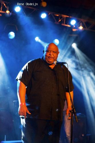 Foto Phil Big Daddy Blues Speat op Bluesfestival Hoogeveen 2014