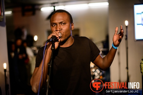 Songhoy Blues op State-X New Forms 2014 foto