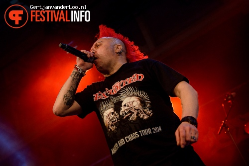 The Exploited op ScumBash 2015 foto
