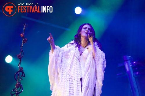 Within Temptation op Paaspop Schijndel 2015 - zaterdag foto