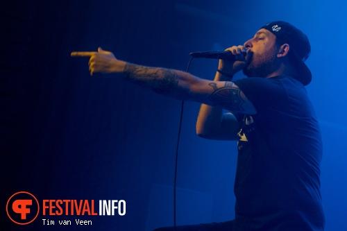 Foto The Ghost Inside op Impericon Festival 2015