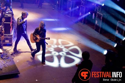 The Common Linnets op Bevrijdingsfestival Overijssel 2015 foto