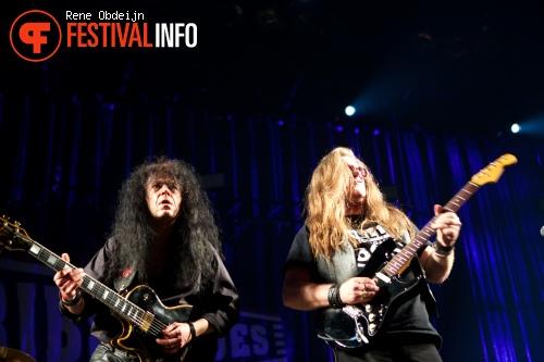 Foto Michael Katon & Rob Orlemans op Ribs & Blues Festival 2015