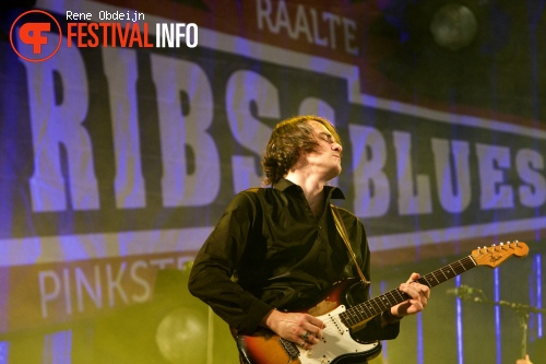 Ryan McGarvey op Ribs & Blues Festival 2015 foto