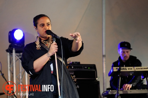 Foto Seinabo Sey op London Calling loves Concerto 2015