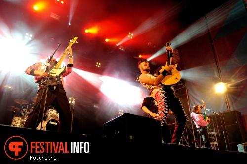 Memphis Maniacs op Indian Summer Festival 2015 foto