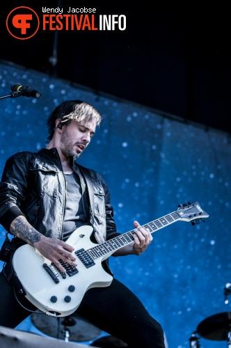 Papa Roach op Fortarock 2015 foto