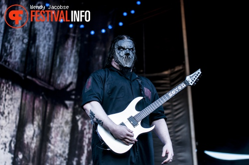Slipknot op Fortarock 2015 foto