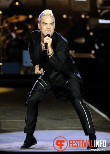 Foto Robbie Williams op Pinkpop 2015 - Zaterdag