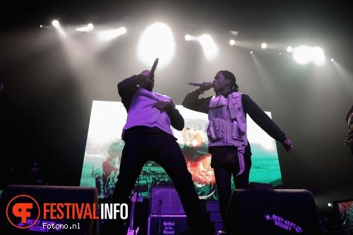 Foto A$AP Rocky op Best Kept Secret 2015 - Zaterdag