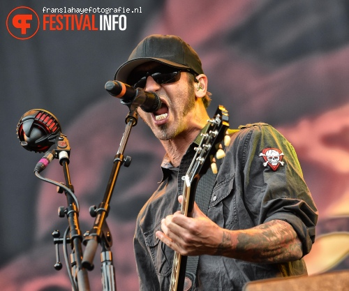 Foto Godsmack op Graspop Metal Meeting 2015