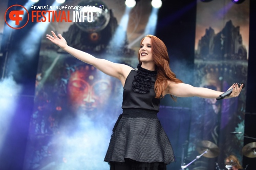 Foto Epica op Graspop Metal Meeting 2015