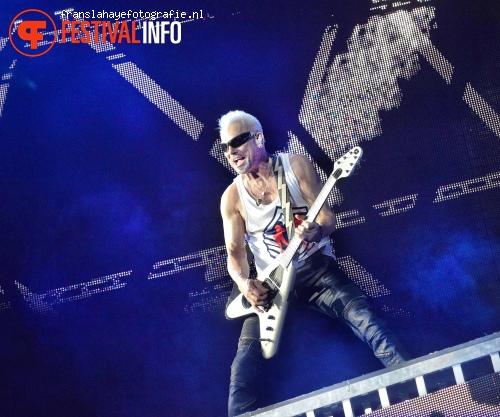 Foto Scorpions op Graspop Metal Meeting 2015