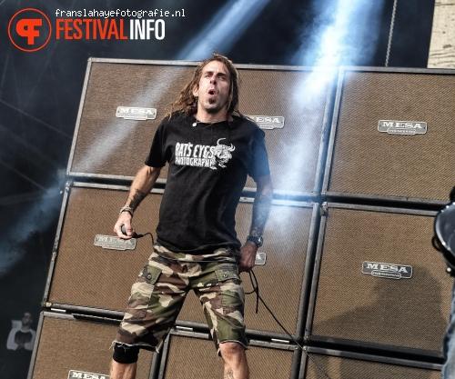 Foto Lamb Of God op Graspop Metal Meeting 2015