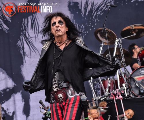 Foto Alice Cooper op Graspop Metal Meeting 2015