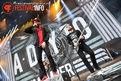 Foto A Day To Remember op Graspop Metal Meeting 2015