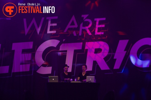Booka Shade op We Are Electric 2015 foto