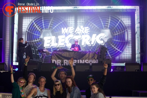 Foto Dr. Robinson op We Are Electric 2015