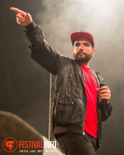 A Day To Remember op Jera On Air 2015 - Vrijdag foto