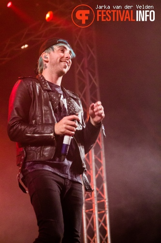 Foto All Time Low op Jera On Air 2015 - Zaterdag
