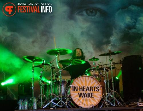 In Hearts Wake op Jera On Air 2015 - Zaterdag foto