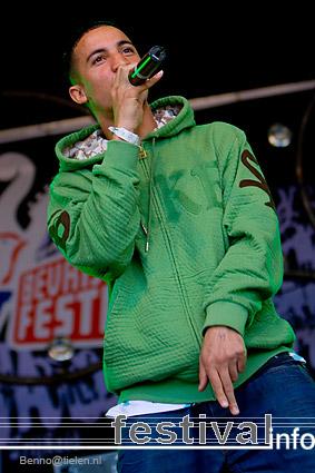 The Opposites op Bevrijdingsfestival Utrecht 2007 foto