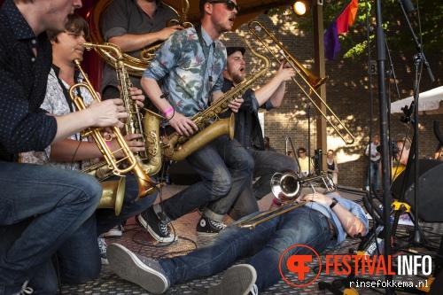 Broken Brass op Festival Mundial 2015 foto