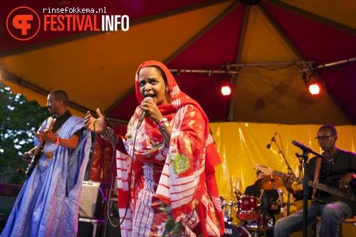 Noura Mint Seymali op Festival Mundial 2015 foto
