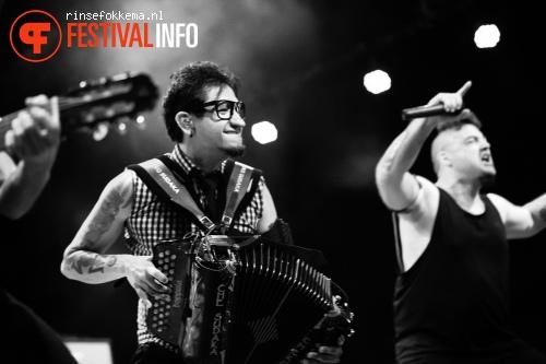 Foto Che Sudaka op Festival Mundial 2015