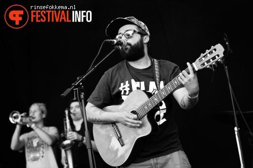 Foto TenTemPiés op Festival Mundial 2015