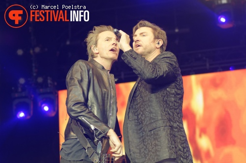 Duran Duran op Night At The Park 2015 foto
