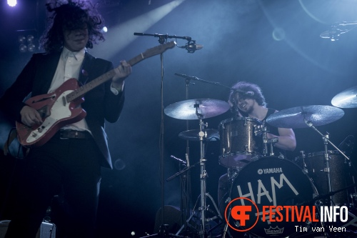 Lucas Hamming op Festival de Beschaving 2015 foto
