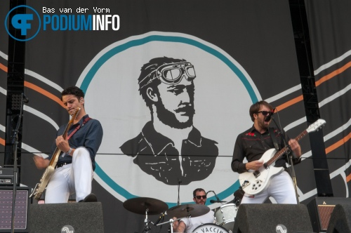Foto The Vaccines op Mumford and Sons - 04/05 - Goffertpark