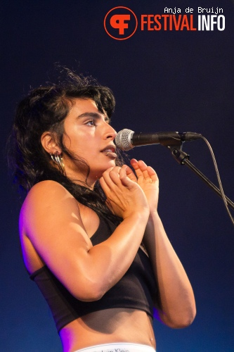 Foto Sevdaliza op Metropolis Festival 2015