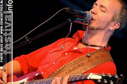 JJ Grey & Mofro op Moulin Blues 2007 foto