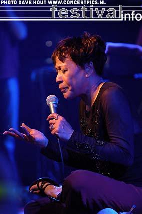 Bettye Lavette op Moulin Blues 2007 foto
