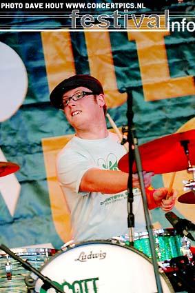 Scott McKeon op Moulin Blues 2007 foto