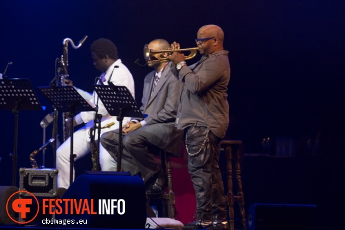 Foto Terence Blanchard E-Collective op North Sea Jazz 2015 - Vrijdag