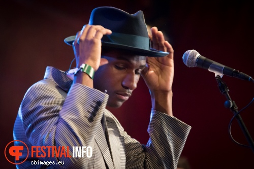 Foto Leon Bridges op North Sea Jazz 2015 - Zaterdag