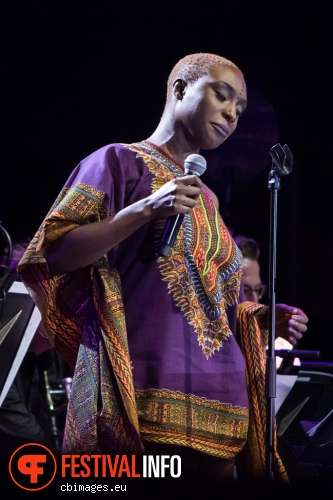 Laura Mvula & Metropole Orkest op North Sea Jazz 2015 - Zondag foto
