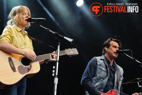 The Common Linnets op ParkCity Live 2015-zondag foto