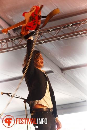 Lucas Hamming op Damaris Festival 2015 foto