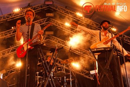 WhoMadeWho op Damaris Festival 2015 foto