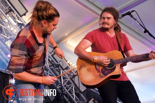 Foto Pierce Brothers op Damaris Festival 2015