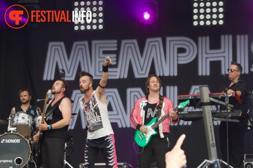 Foto Memphis Maniacs op Zwarte Cross 2015 - Zondag