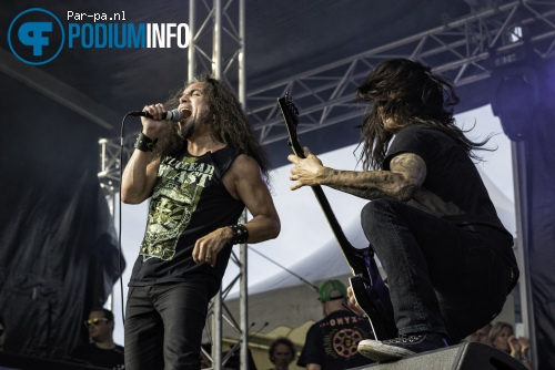 Death Angel op Schollenpop 2015 foto